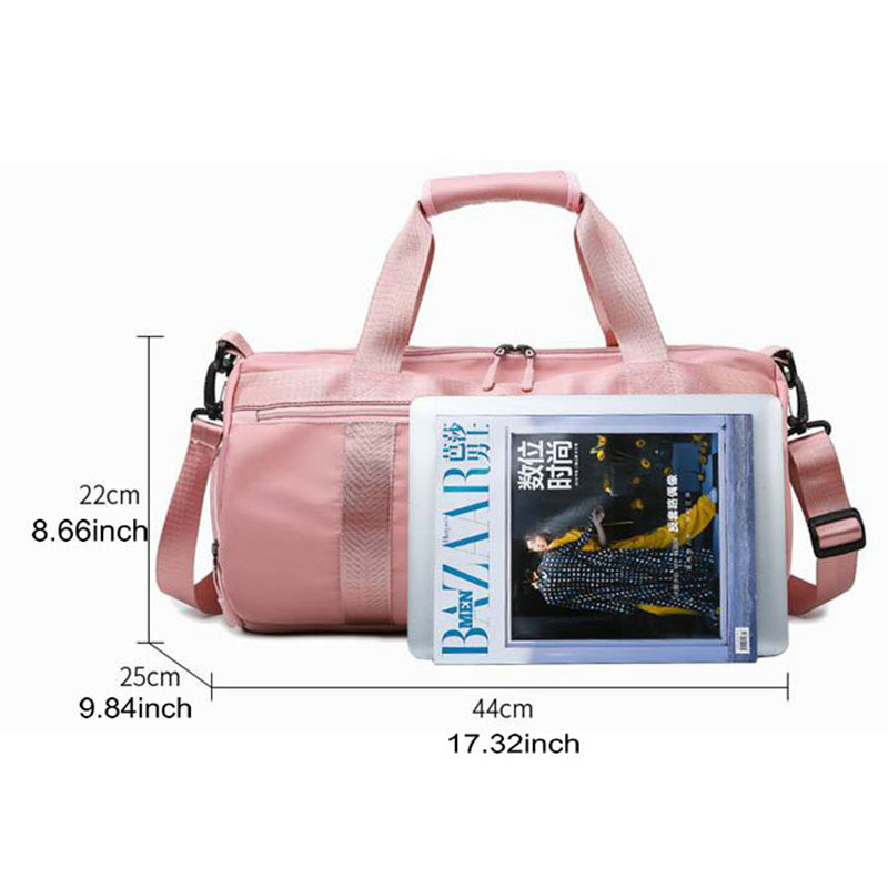 2019 Sport Yoga Bags With Shoe Compartment Gym Duffel Storage Bags Gril Swimming Sport Pool Bags Large Travel Luaggage Bags in Gym Bags from Sports Entertainment
