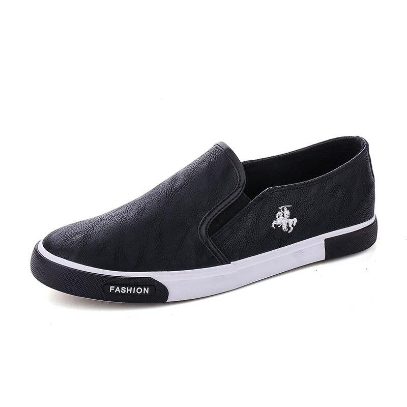 ZYYZYM Модни обувки за мъже Пролет лято Pu - Мъжки обувки - Снимка 3