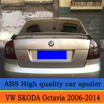 DIY pintura en aerosol para cualquier color de 2006 a 2014 años Volkswagen SKODA Octavia por los modos de curva del alerón del maletero trasero las alas