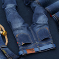 2016 SULEE High quality brand men's jeans trousers straight jeans long pants jeans denim classic fashion cotton straight jeans