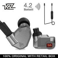 KZ ZS5 Bluetooth Headphone Wireless Sport Noise Canceling Earphone Amplifer With Mic Heavy Bass High Quality