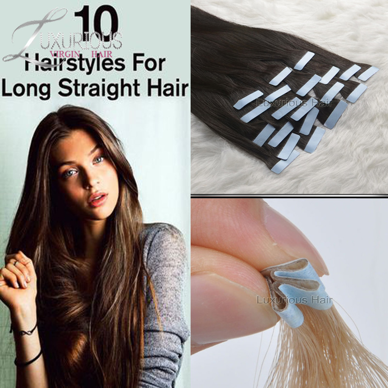 Adhesive Weft Hair Extensions 97