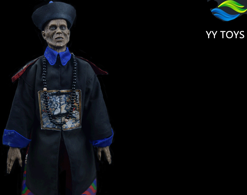 YY TOYS 1 6 Mr Zombie Soldier Doll Model In Qing Dynasty Action Figure Model