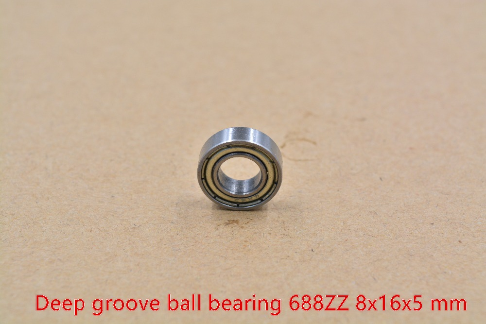688ZZ BEARING 8mmx16mmx5mm STAINLESS STEEL RADIAL BALL ROLLER BEARING.