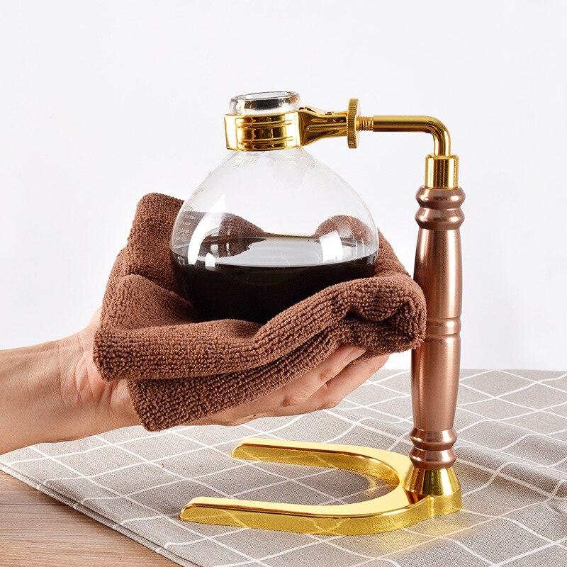 Japanese Style Siphon Coffee Maker Tea Siphon Pot Vacuum Coffeemaker Glass Type Coffee Machine Filter Kahve Makinas 3cup 5cup 3