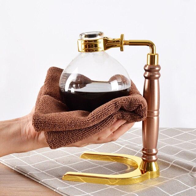 Japanese Style Siphon coffee maker Tea Siphon pot vacuum coffeemaker glass type coffee machine filter kahve makinas 3cup 2
