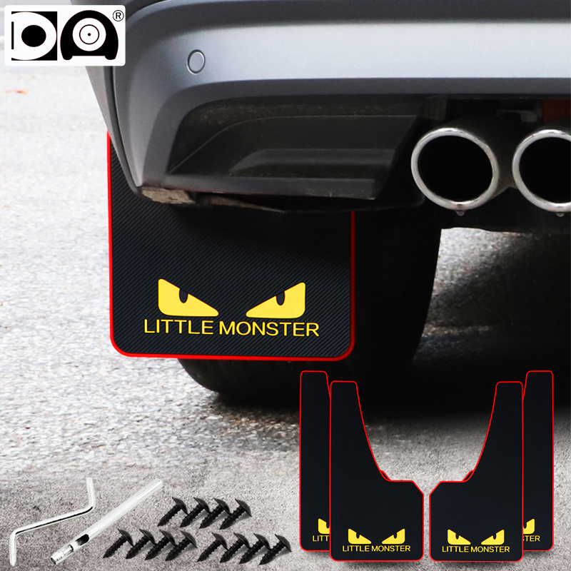Auto fender flare Mudguards Front rear wheel protector Mud flaps Splash guard for Honda accord pilot jazz civic hrv crv fit jade in Mudguards from Automobiles Motorcycles