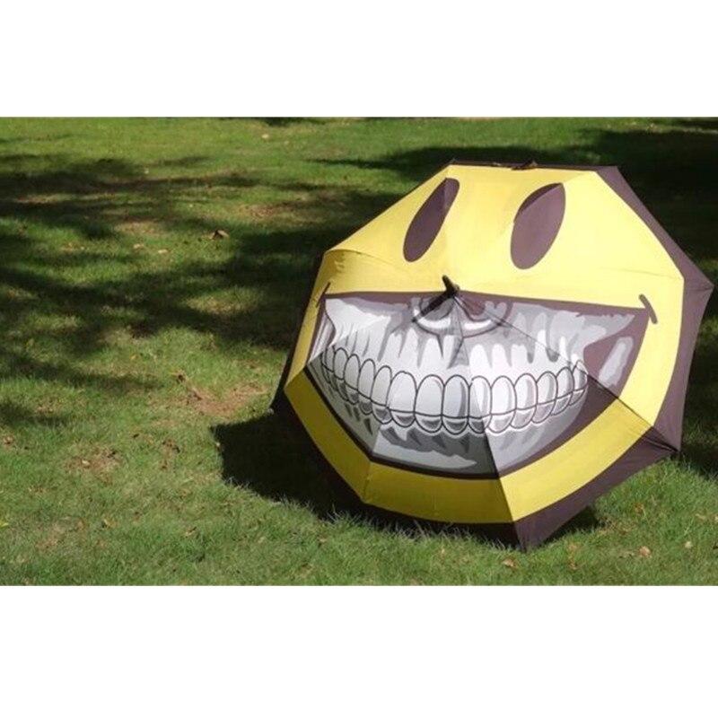 Moderne créatif or dents sourire visage parapluie édition limitée le parrain de British Street Art décorations pour la maison M1171 - 3