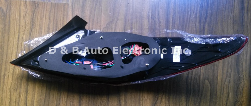 1 пара, Новое поступление, абсолютно светодиодный задний светильник, светодиодный задний светильник, задний фонарь, сигнальные лампы для hyundai Accent Solaris(Verna) 2013'