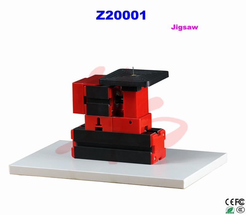 Mini lathe jigsaw Z20001 with 90mm*90mm Working table for DIY teaching the jigsaw man