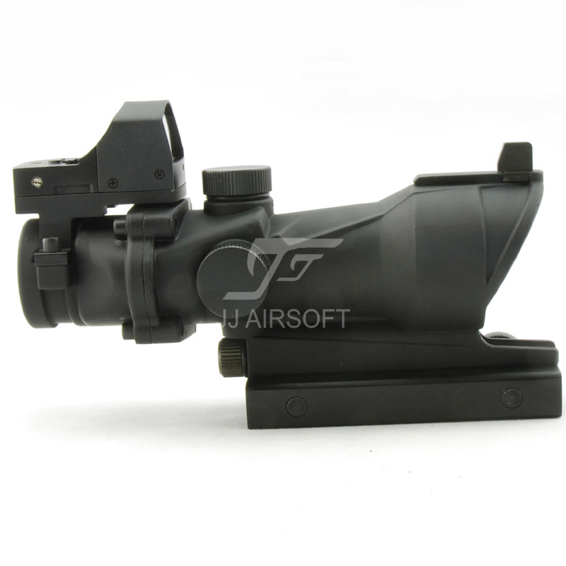 JJ Airsoft ACOG Style 4x32 Docter Mini Qırmızı nöqtə və - Ovçuluq - Fotoqrafiya 4
