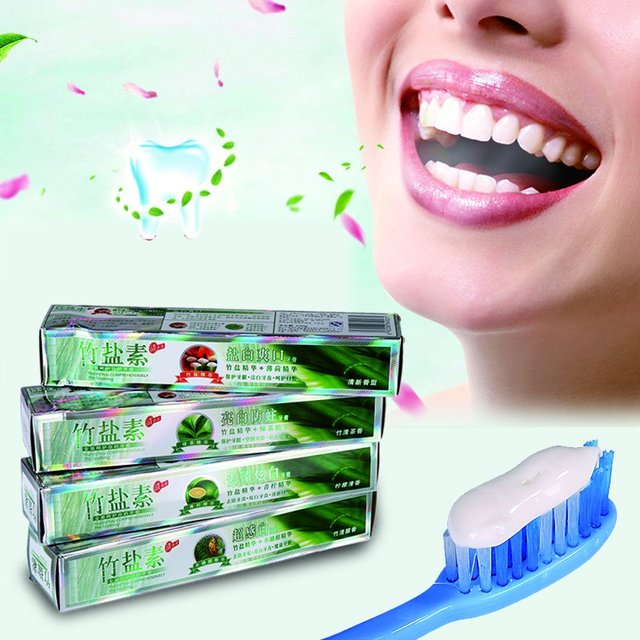 1pcs Pro Prevent Tooth Decay Bad Breath Bamboo Salt Teeth Whitening