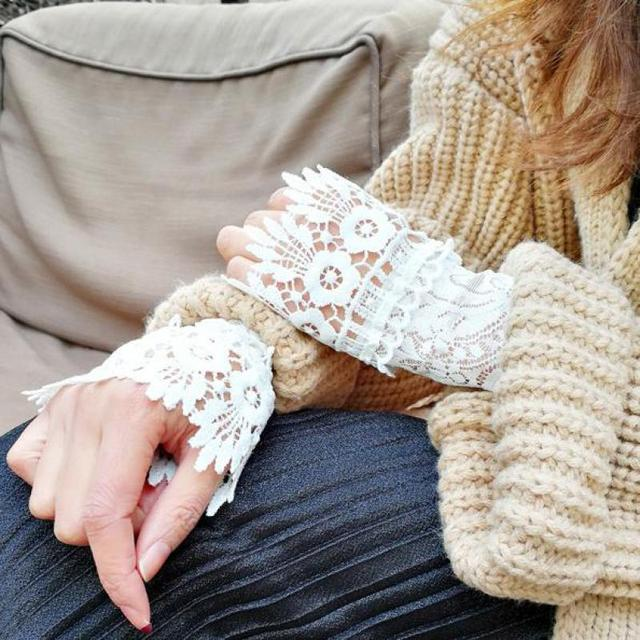 Elegant Lace Arm Warmers