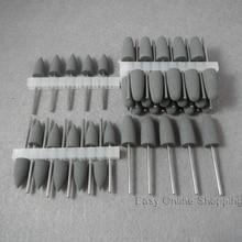 50 ピースグレー歯科シリコーンポリッシャ樹脂ベースアクリル研磨バリ新歯科ラボバリ