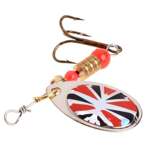 Image 4 - Fishing Lure easy shiner Fishing Spoon Lure Sequins Paillette Metal Hard Bait Double Treble Hook Tackle dropshipping