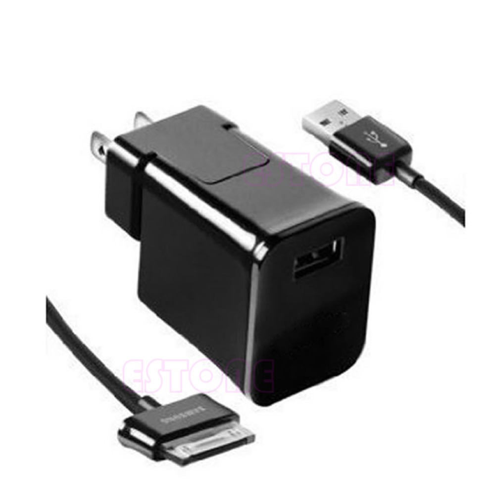 US Plug Travel Wall Charger Cable For Samsung Galaxy Tab 2 Tablet 7/8.9 /10.1 10 1 tablet cable charger for acer iconia tab a510 a511 a700 a701 12v home charger power cord wall charger travel plug adapter