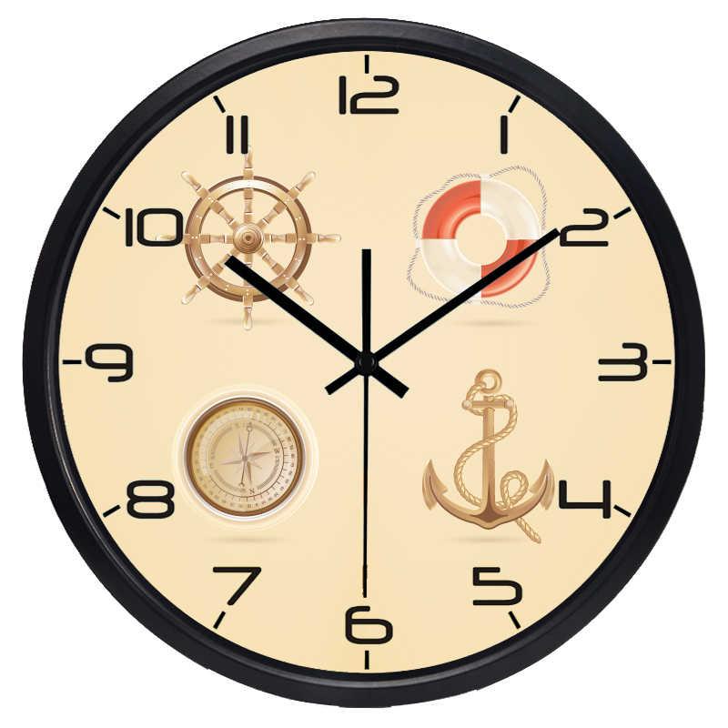 Sea Rudder Mediterranean Seaman Clock Mediterranean Clock Sea Clockclock Men Aliexpress