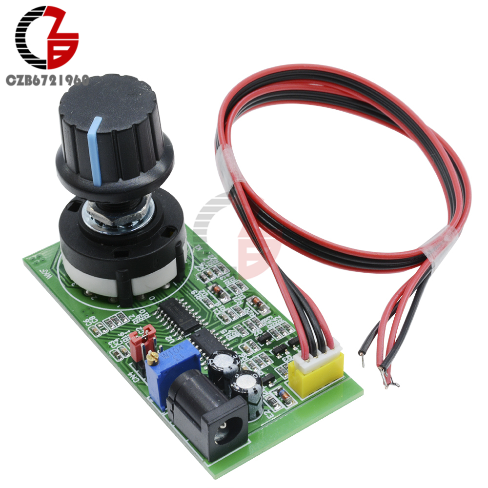 DC 5-12V 1Hz-100KHz PWM Frequency Signal Generator Source Pulser Pulse Square Wave Generator
