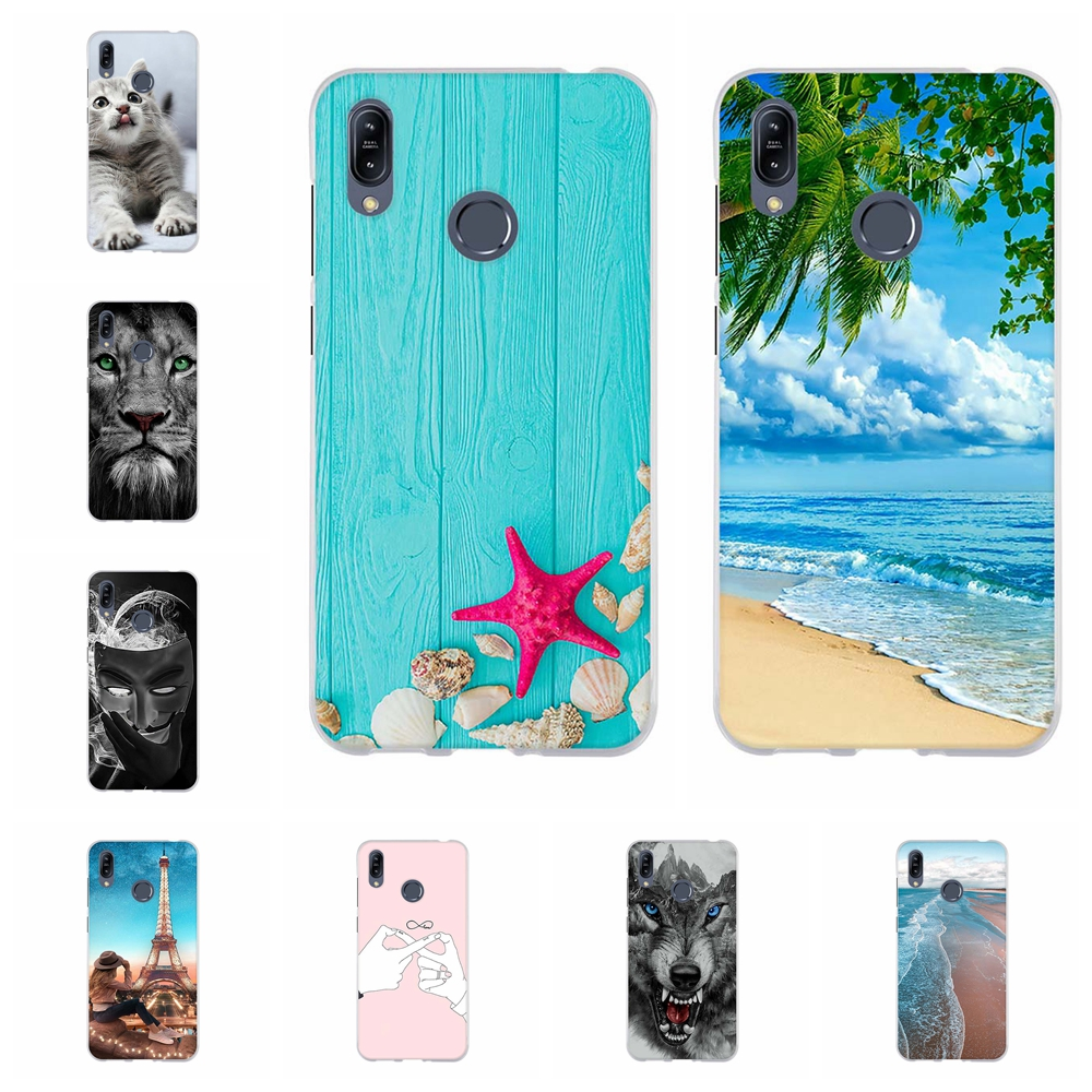 For Asus Zenfone Max M2 ZB633KL Case Soft TPU For Asus Zenfone Max M2 ZB633KL Cover Beach Pattern For Asus Max M2 ZB633KL Funda