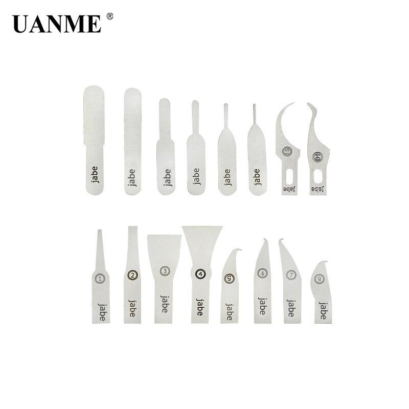 где купить UANME 16PCS IC Chip Repair Thin Blade Tool CPU Remover for iPhone Processors NAND Flash Mainboard Repair Tool по лучшей цене