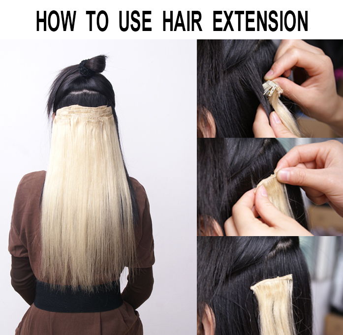 Cheap price clip in hair extensions real synthetic full head 8 cheap price clip in hair extensions real synthetic full head 8 piece diy hair natural hot sales17inch brown color on aliexpress alibaba group pmusecretfo Image collections