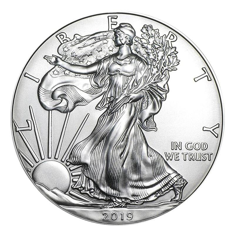 2019 American 1 coin 1 oz Eagle Silver real Coin