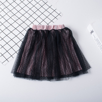 Baby Girls Mesh Skirts 2017 Spring Autumn Ball Gown Princess Kids Polka Dot Clothes Ruched Boutiques
