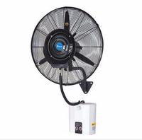Бесплатная доставка стене висит спрей прохладной температуре увлажнения распыление muti функций открытый с водяным баком спрей вентилятор