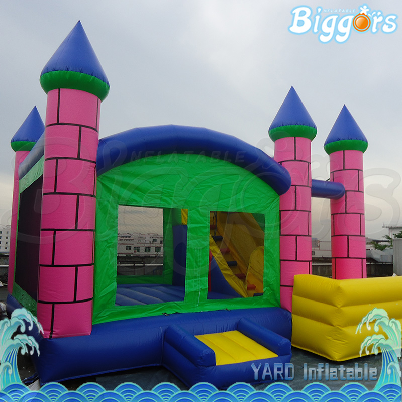 House Shape Inflatable Bounce House With Slide Bouncy Castle For Commercial Use small size inflatable bounce house jumping bouncy castle for commercial use