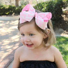 EASOV Kids Girls Knot Headband Cartoon Flower Hair Band Kids Headwear Kid Bow Hair Accessories  W167