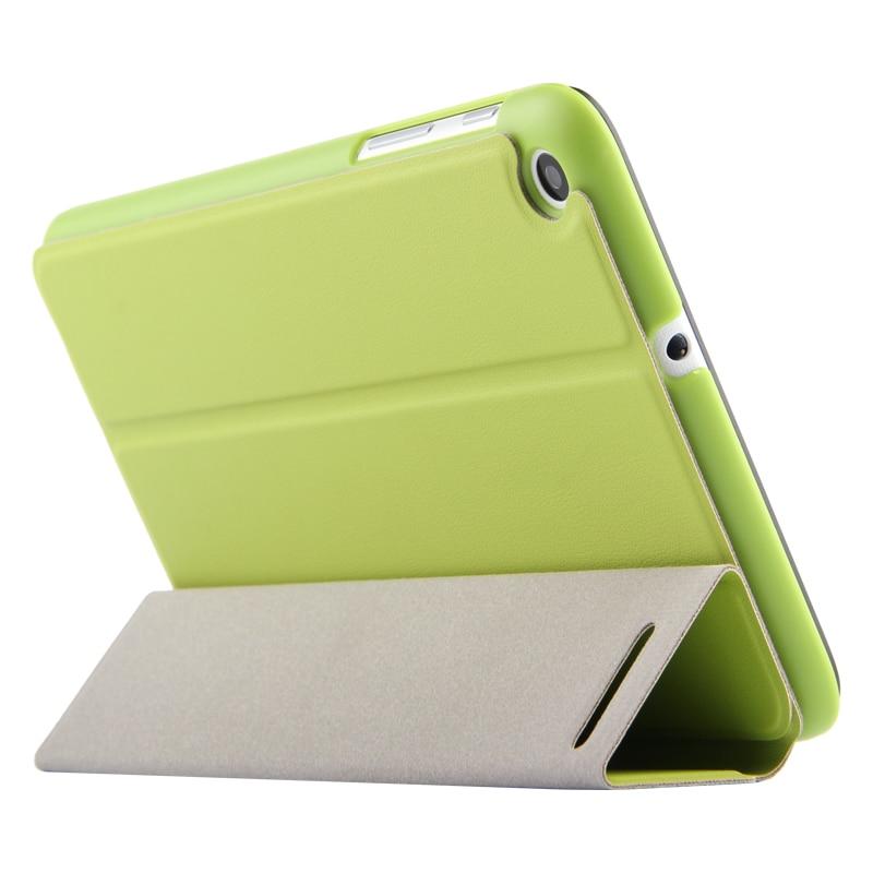 Ultra Slim 3-Folder Stand PU Leather Filp Case Cover For Huawei Mediapad T1 7.0 T1-701 T1-701U/W T1-701UA T2-7 BGO-DL09 Tablet
