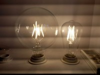 6PCS LOT NEWEST Vintage Retro G125 LED 4W E27 Filament Light Bulb Old Fasioned Warm White