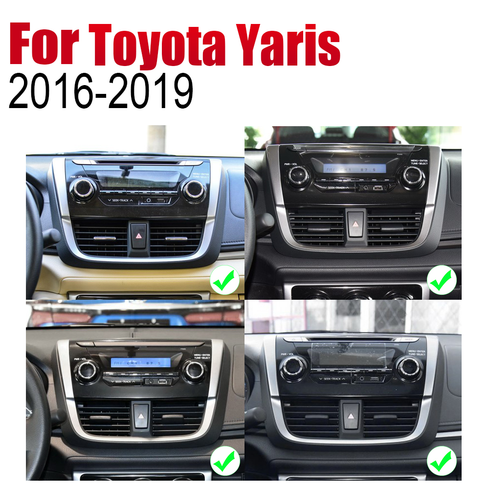 ZaiXi Auto Radio 2 Din Android Car Player For Toyota Yaris 2016 2019 GPS Navigation BT Wifi Map Multimedia system Stereo in Car Multimedia Player from Automobiles Motorcycles