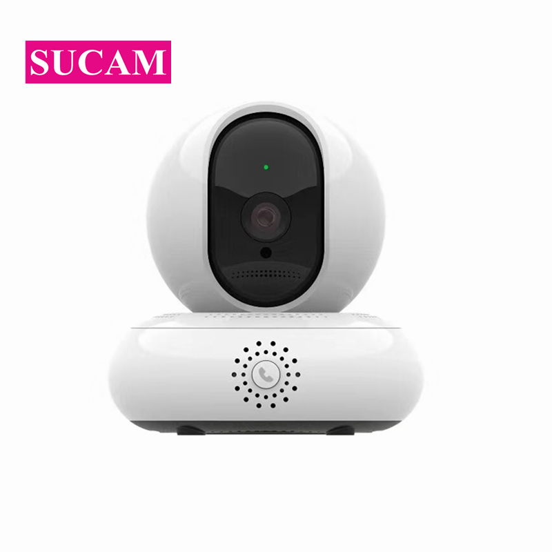 Indoor 2MP Wireless PTZ IP Camera HD Smart Motion Detection Alarm Baby Monitor 1080P Wifi Camera with 360 degree Rotate