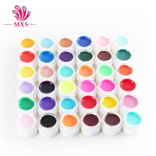 36 Solid Color UV Gel Nail Art Tips DIY Decoration for Nail Manicure Gel Nail Polish Extension