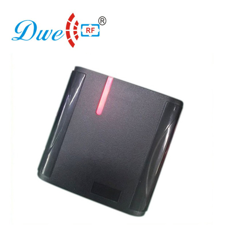 DWE CC RF access control card reader proximity 125khz WG34 waterproof rfid reader price with black color