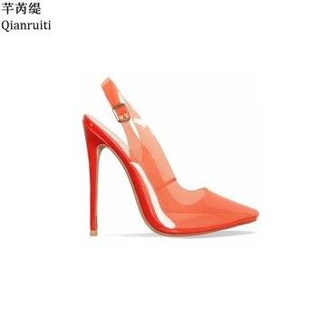 Plata Altos Zapatos Stiletto Mujeres Oro Tacones Qianruiti Vestir Tachonado De Brillo zVpSMqUG