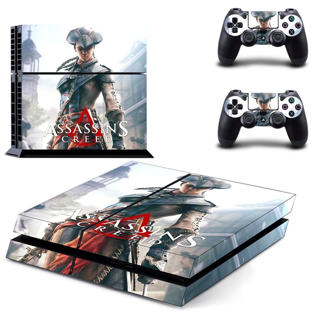 ̀ •́ Assassins Creed vinly PS4 etiqueta piel para PS4 playstation 4 ...