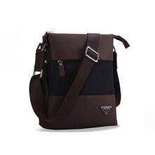 Новая мода Для мужчин Бизнес Стиль Водонепроницаемый Оксфорд Курьерские сумки путешествия работа компьютер Сумки на плечо Crossbody Колледж сумки