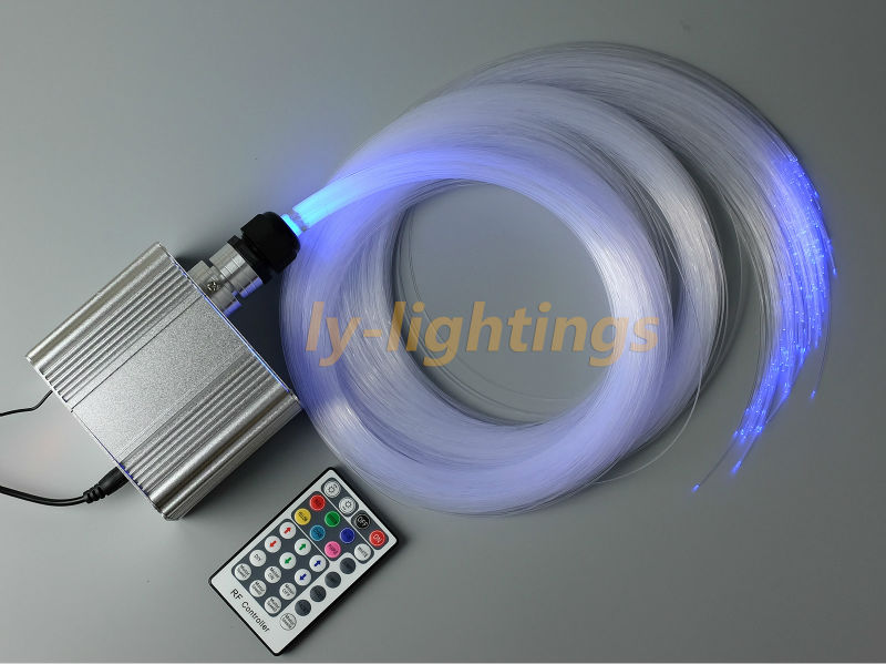 For sales DIY twinkle stars fiber optic lights RGBW optical fiber light led light for festive house bar party night lighting цена и фото