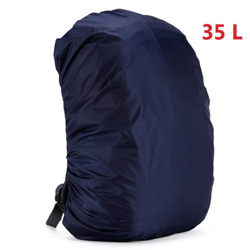 Mount Chain 35/45 л регулируемый водонепроницаемый рюкзак с защитой от пыли дождевик Портативный Сверхлегкий плечо защиты Открытый Инструменты для пешего туризма - Цвет: 35 liters 5