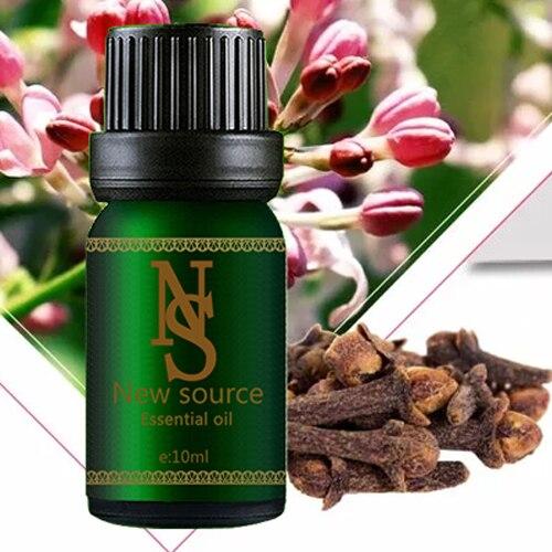 Plant essential oils Clove Oil 10ml Treatment of headache Toothache Halitosis Aromatherapy essential oils Z10