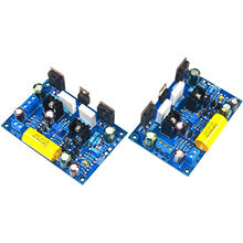 One Pair K851 100W FET MOS stereo DIY HIFI AMP Assembled Amplifier Board 2 Boards YJ