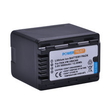 PowerTrust 1Pc 3600mAh VW-VBK360 VW VBK360 VBK360 Batteria per Panasonic HDC-HS80 SD40 SD60 SD80 SDX1 SDR-H100 HS60 HS80 h85 H95(China)