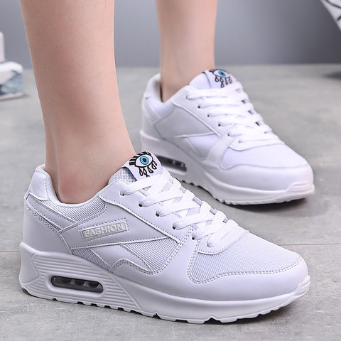 MWY Women Casual Shoes Wild White Shoes Platform Sneakers Zapatos Dama Women College Style Vulcanize Shoes Ladies Trainers Pakistan