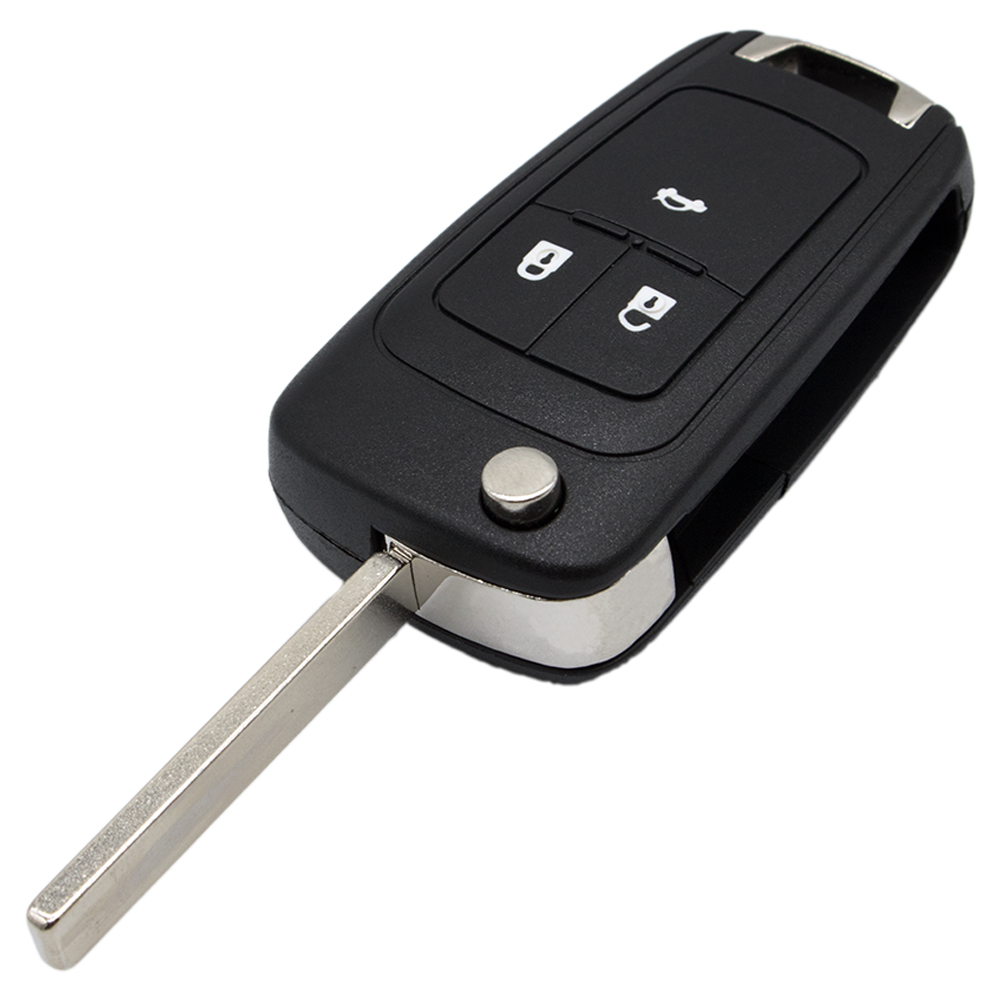 WhatsKey 3 Buttons Car Key Shell Remote Flip Folding Key Fob Case For Opel Vauxhall Astra H Insignia J Vectra C Omega G Corsa D стоимость
