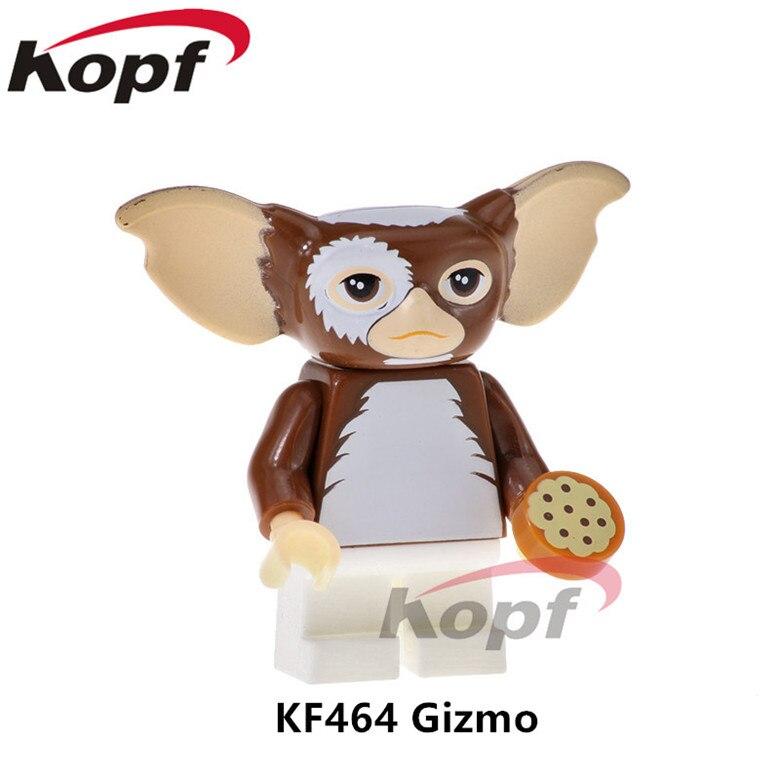 20Pcs KF464 Building Blocks Green Gremlins Figures Gizmo Stripe Sonic 71256 Super Heroes Bricks Education Toys for children