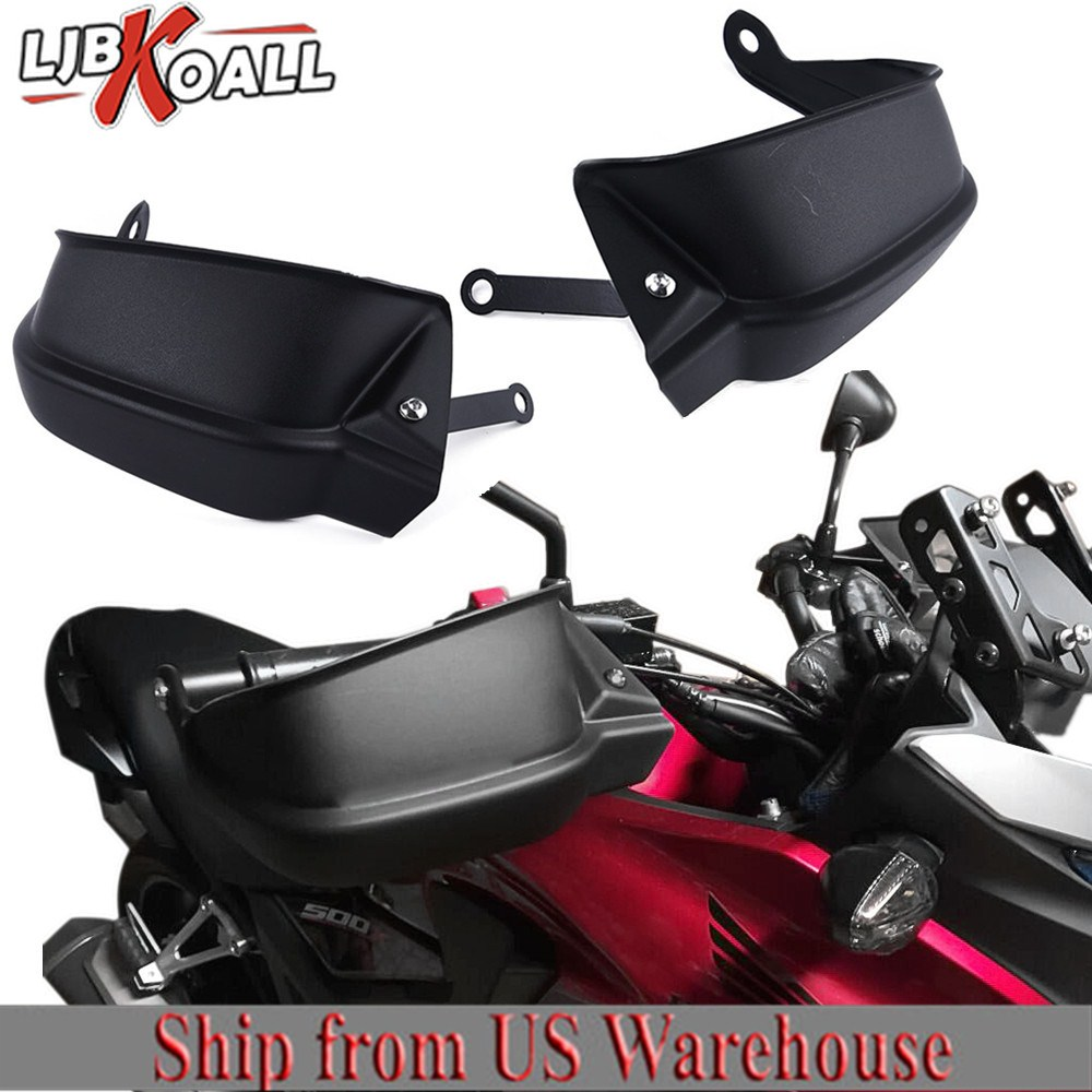 for Honda CB 500 X <font><b>CB500X</b></font> <font><b>2013</b></font> 2014 2015 2016 2017 2018 2019 Handle Bar Hand Guard Handguards Protector Brake Clutch Wind Shield image