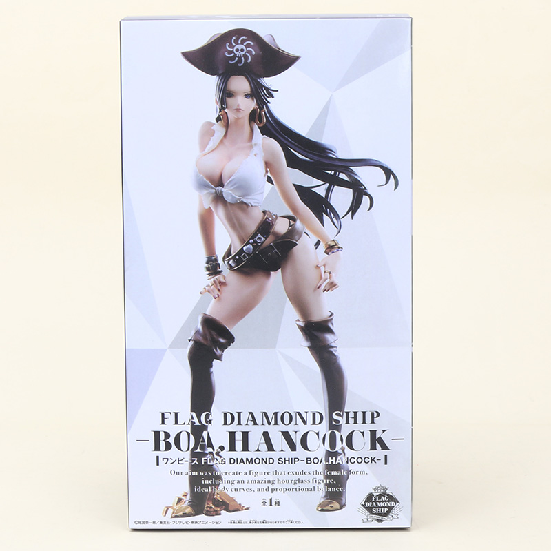 Pvc Figure Collectible Model Toy 25cm Action & Toy Figures Reliable Anime One Piece Boa Hancock Flag Diamond Ship Ver