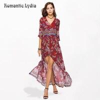 2018 Summer Women Boho Chic Floral Party Long Dress Bohemian Beach Sundress Tunic Fashion Vestidos Plus